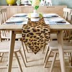 chemin-de-table-motif-leopard-afrique-anniversaire