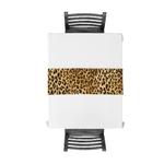 chemin-de-table-motif-leopard-animaux-savane