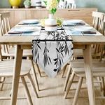 chemin-de-table-motif-bambou-nature