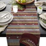 chemin-de-table-afrique-anniversaire-voyage-motifs