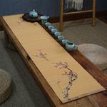 chemin-de-table-bambou-chinois-motifs-nature