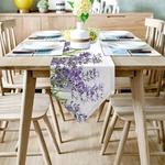 chemin-de-table-lavande-champetre-anniversaire-floral