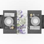 chemin-de-table-lavande-champetre-anniversaire-fleurs