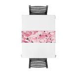 chemin-de-table-flamant-rose-tropicaux