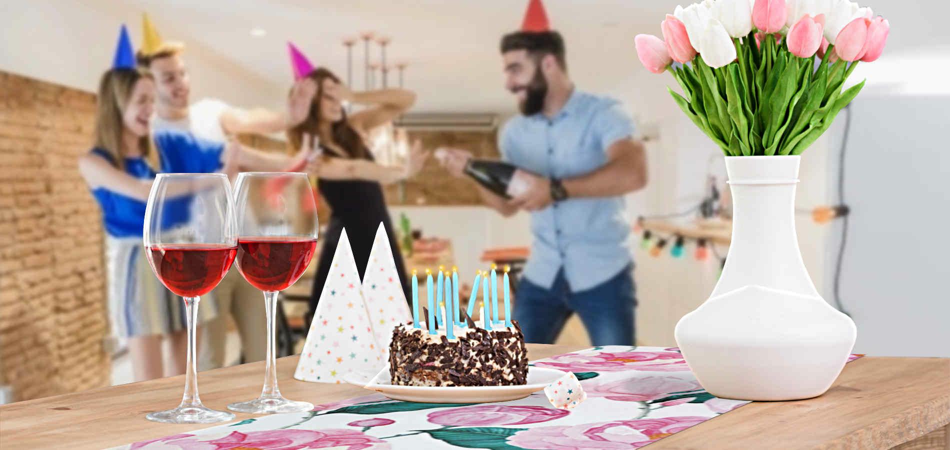 deco-table-anniversaire-theme-fleurs