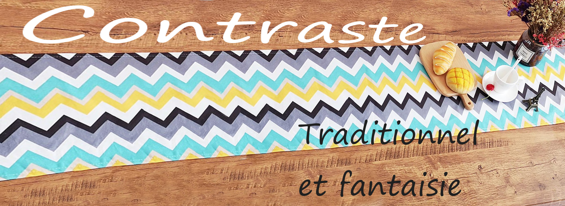 chemin-de-table-fantaisie-multicolore