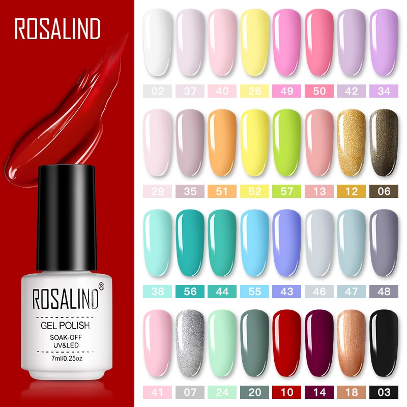 Ensemble-de-Vernis-Gel-ROSALIND-pour-manucure-Vernis-Semi-Permanent-couche-de-finition-Vernis-Gel-LED