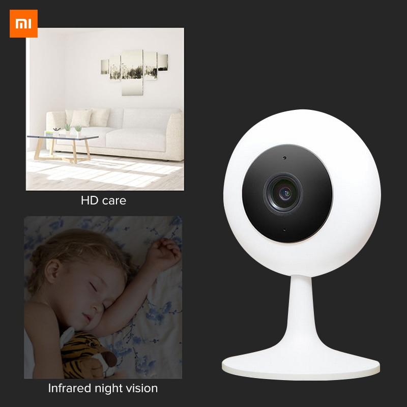Xiaomi Mijia Xiaobai appareil photo intelligent Populaire Version 720 P HD Sans Fil Wifi Infrarouge vision nocturne 100.4 Degrés IP Accueil Cam CCTV