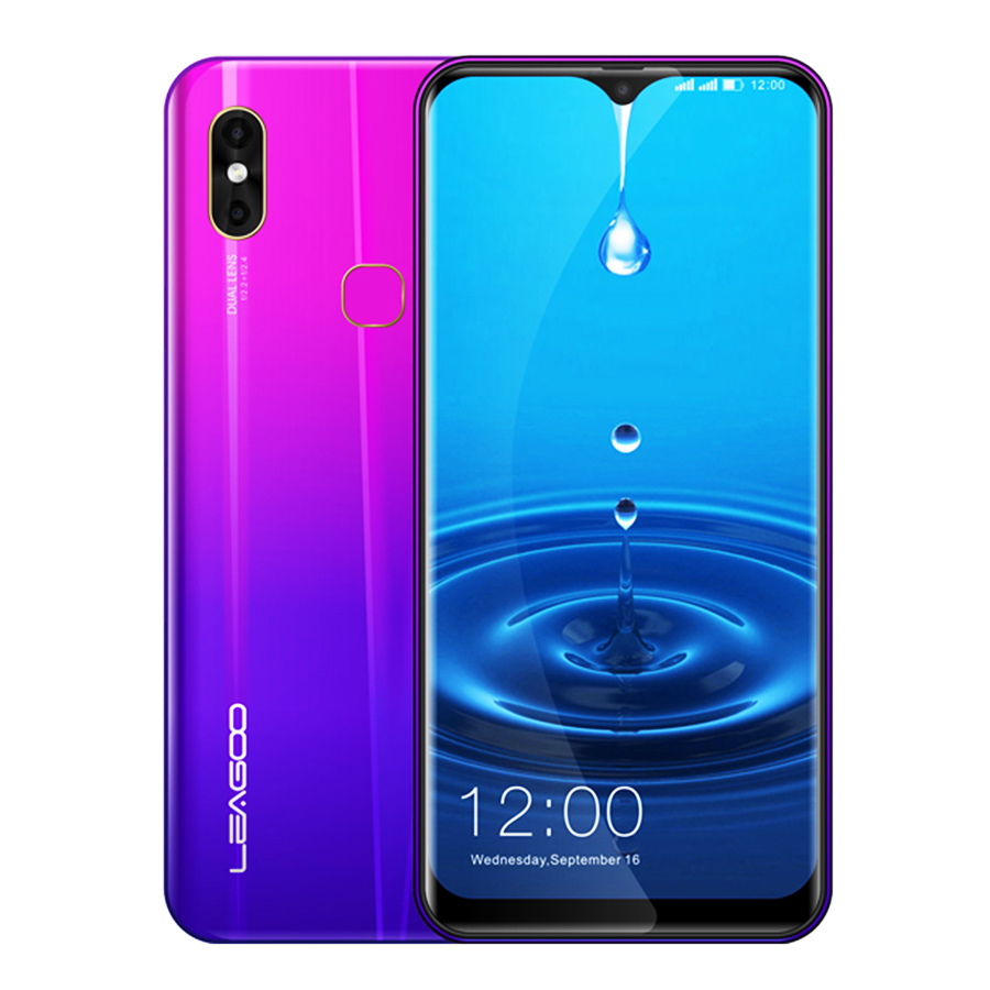 Original LEAGOO M13 Android 9.0 19:9 6.1 4 GB RAM 32 GB ROM MT6761 Quad Core empreinte digitale visage ID 4G Waterdrop
