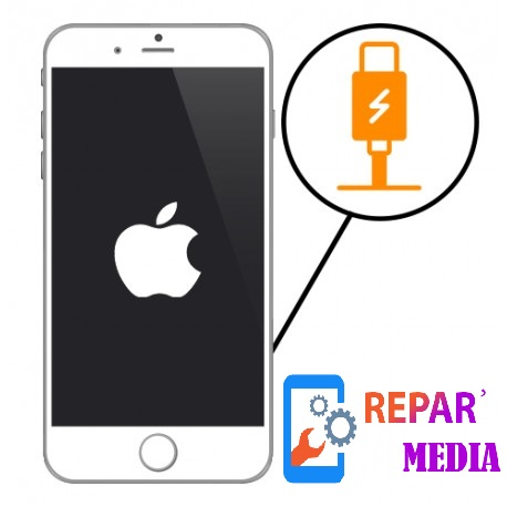 Remplacement connecteur de charge iPhone 5 / 5c /5s / 6 / 6s / 6Plus / 6sPlus / 7 / 7Plus / 8 / 8Plus