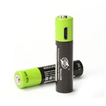 ZNTER-batterie-lithium-ion-rechargeable-USB-1-5V-AAA-400mah-avec-chargeur-USB