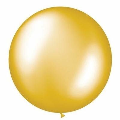 Ballon Géant En Latex Or