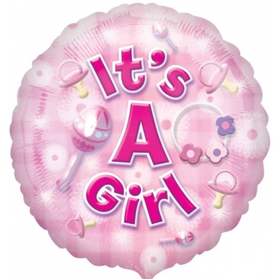 Ballon Mylar It's a girl