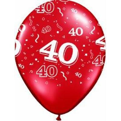 Ballons En Latex Chiffres 40