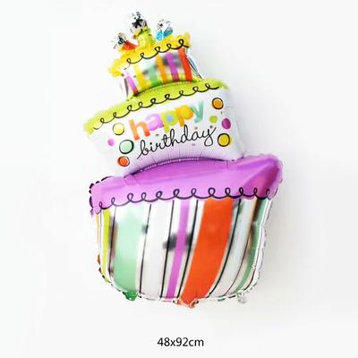 Ballon gateau d'anniversaire