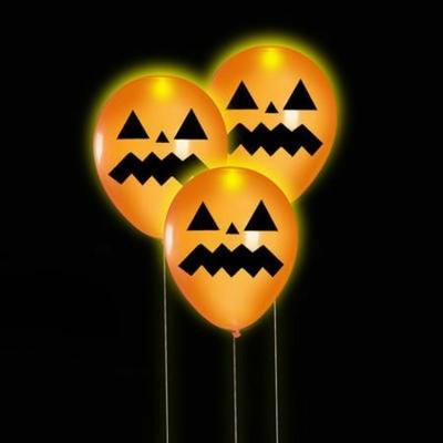 5 Ballons Lumineux Halloween
