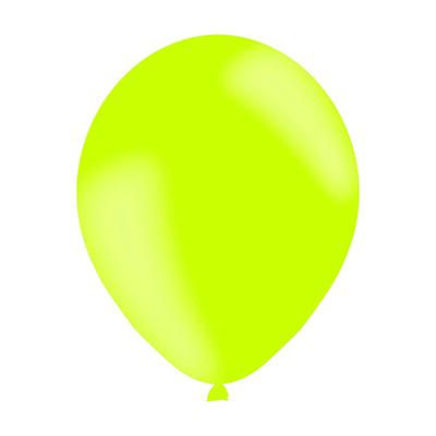 50 ballons latex vert anis