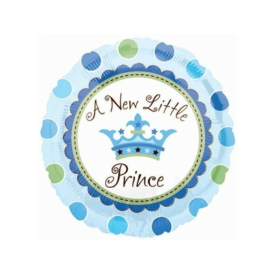 Ballon  A new little Prince en aluminium