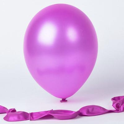 100 ballons métallisés violets