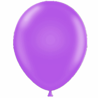 50 ballons latex violet