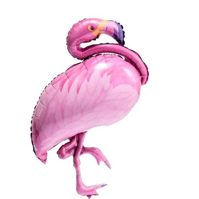Ballon Flamand rose aluminium Mylar