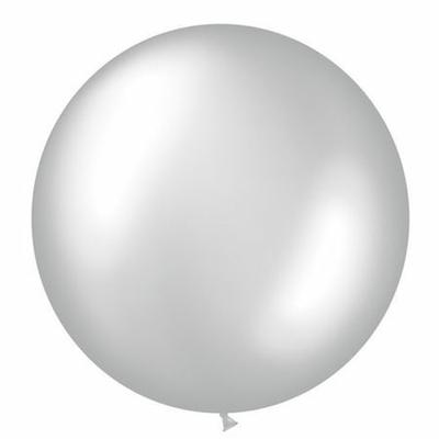 Ballon Géant En Latex Argent