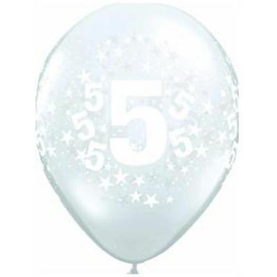 Ballons En Latex Chiffres 5