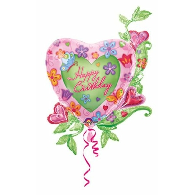Ballon Coeur Anniversaire