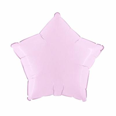 Ballon mylar aluminium étoile rose