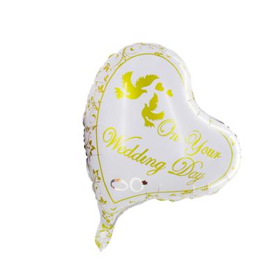 Ballon coeur mariage