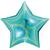 ballon-holo-etoile-turquoise