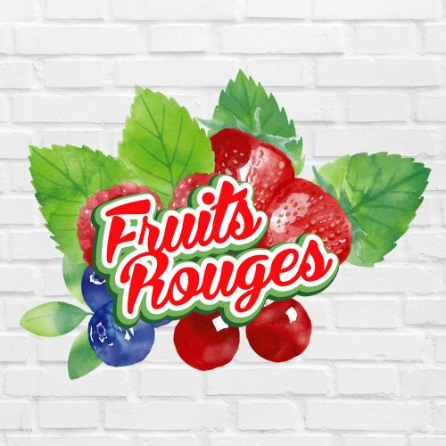 E-liquide Fruits rouges 10ml E-Intense