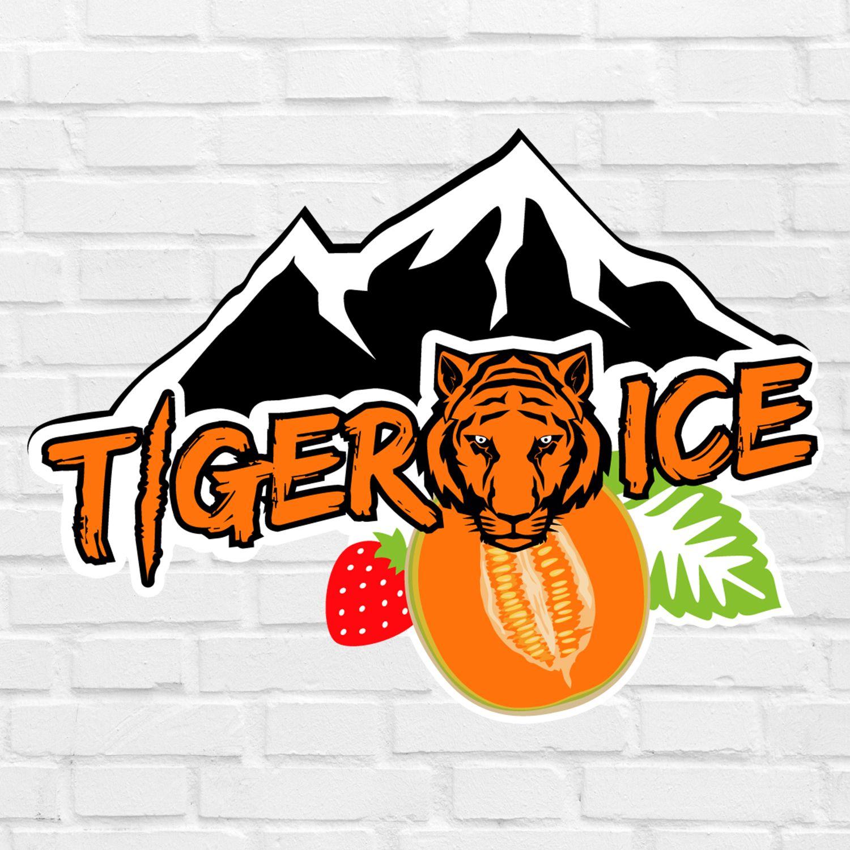 E-liquide Tiger Ice E-intense : Menthe, fraise et melon