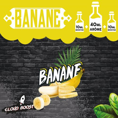 Banane 60ml Clous Booster