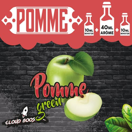 Pomme Green 60ml Cloud booster