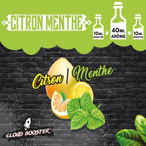 Citron Menthe 60ml Cloud Booster