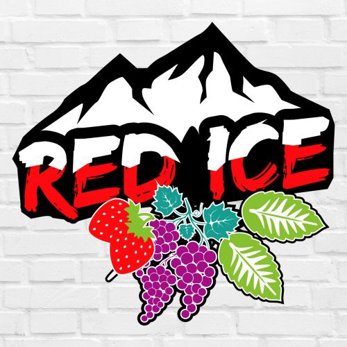 E-liquide Red Ice 10ml E-Intense : fruits rouges, raisins et menthe