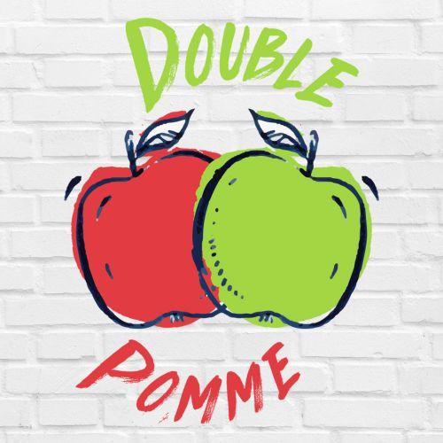E-liquide Double Pomme E-intense 10ml