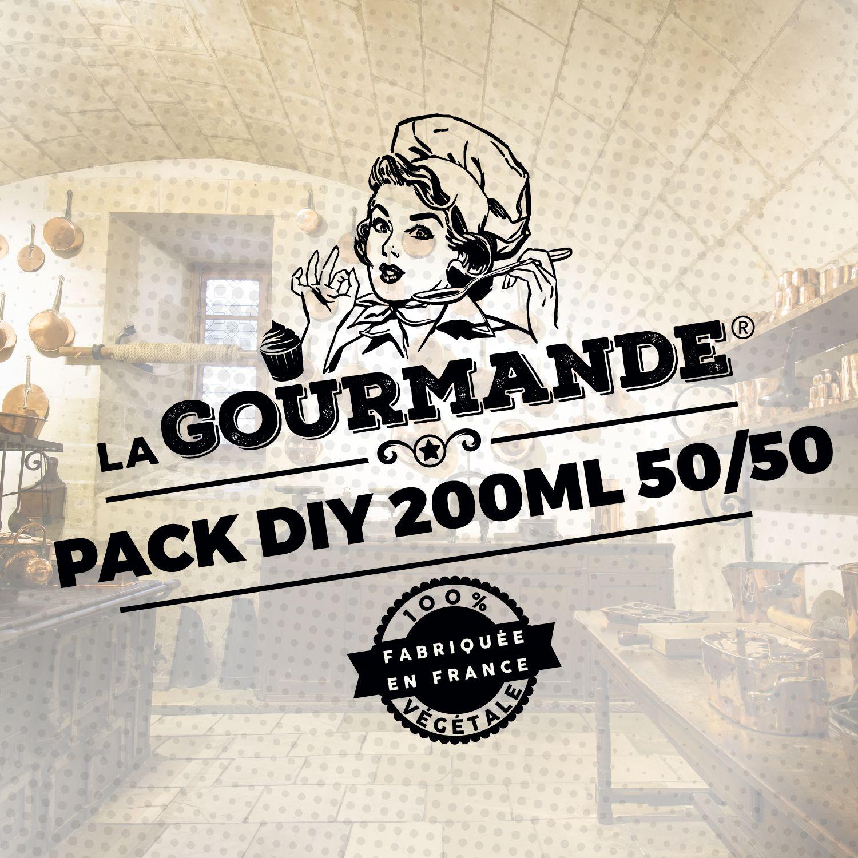 Pack DIY 200ml 50/50 La Gourmande