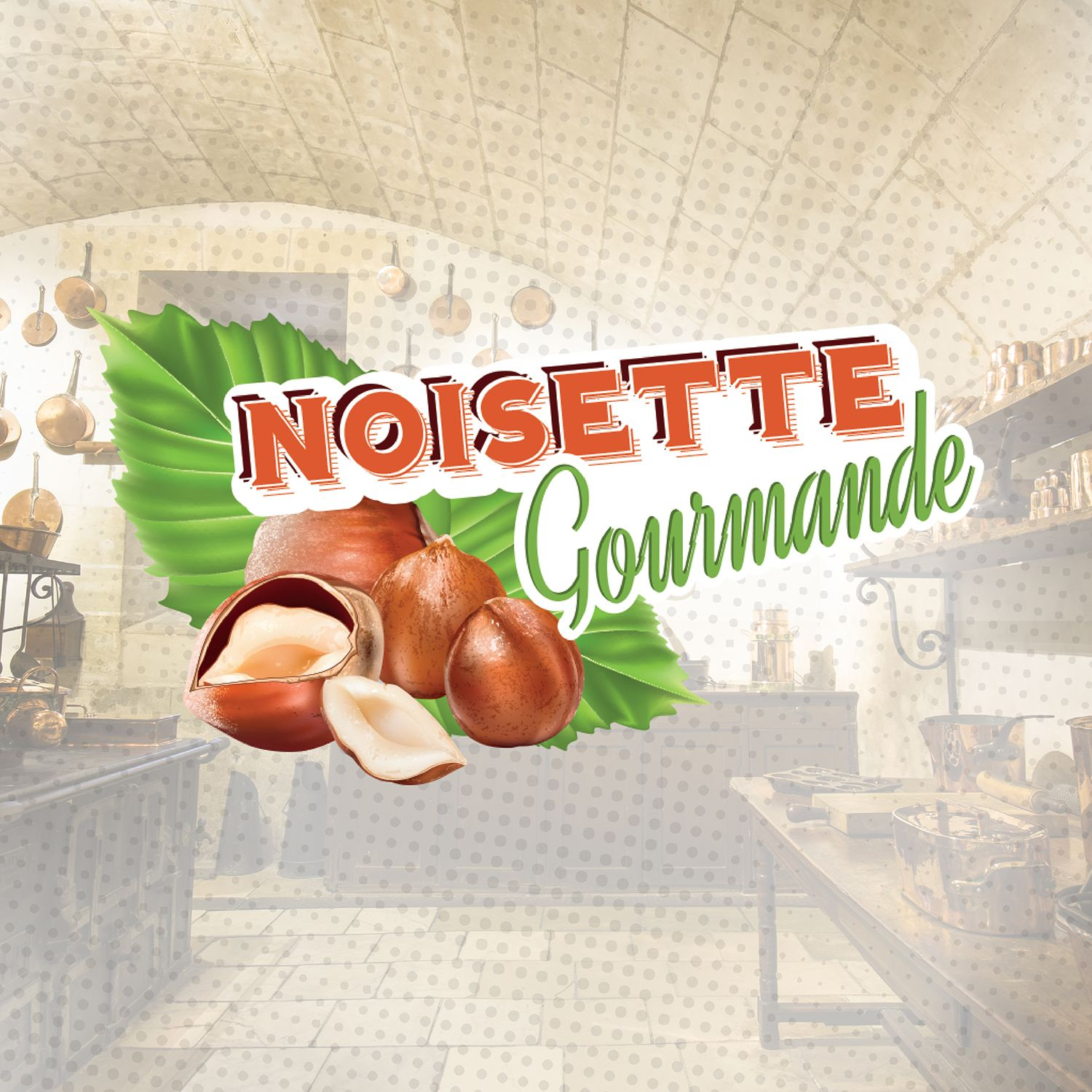 Concentré Noisette Gourmande 10Ml La Gourmande