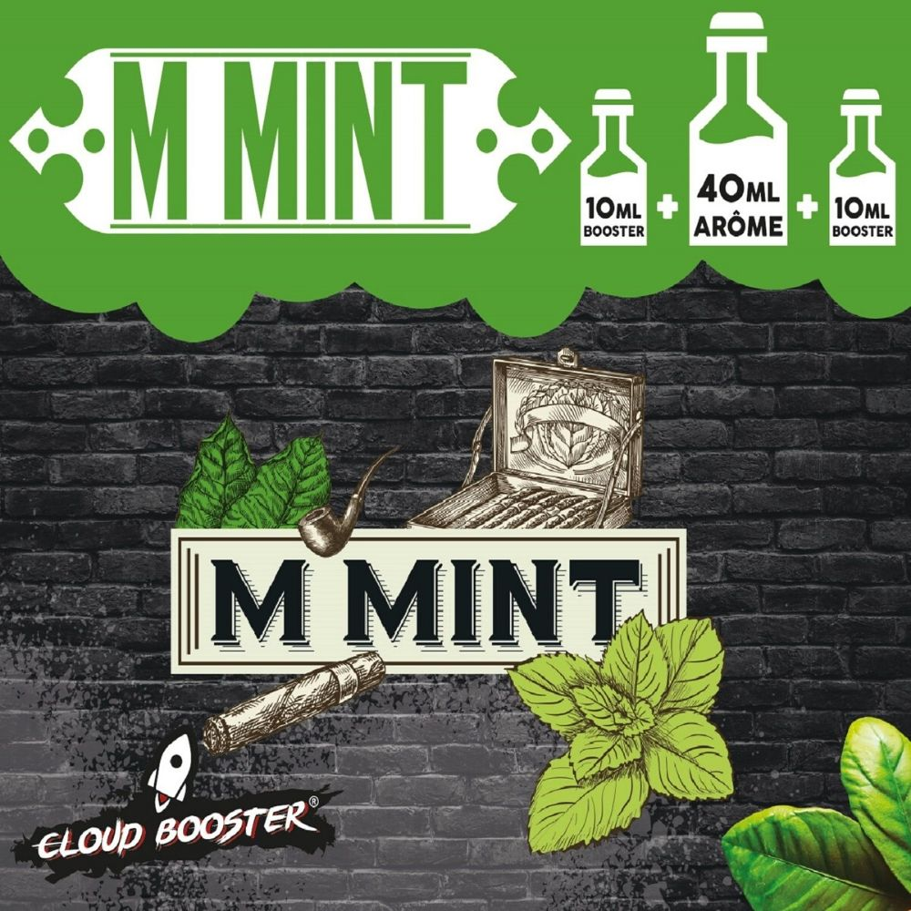 Tabac Menthe MINT 60ml Cloud Booster