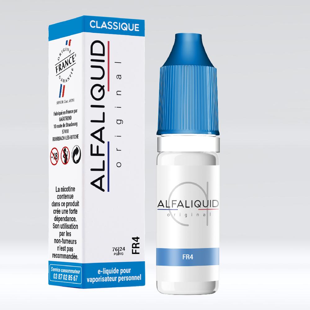 E-liquide Alfaliquid FR4 - Saveurs Classique