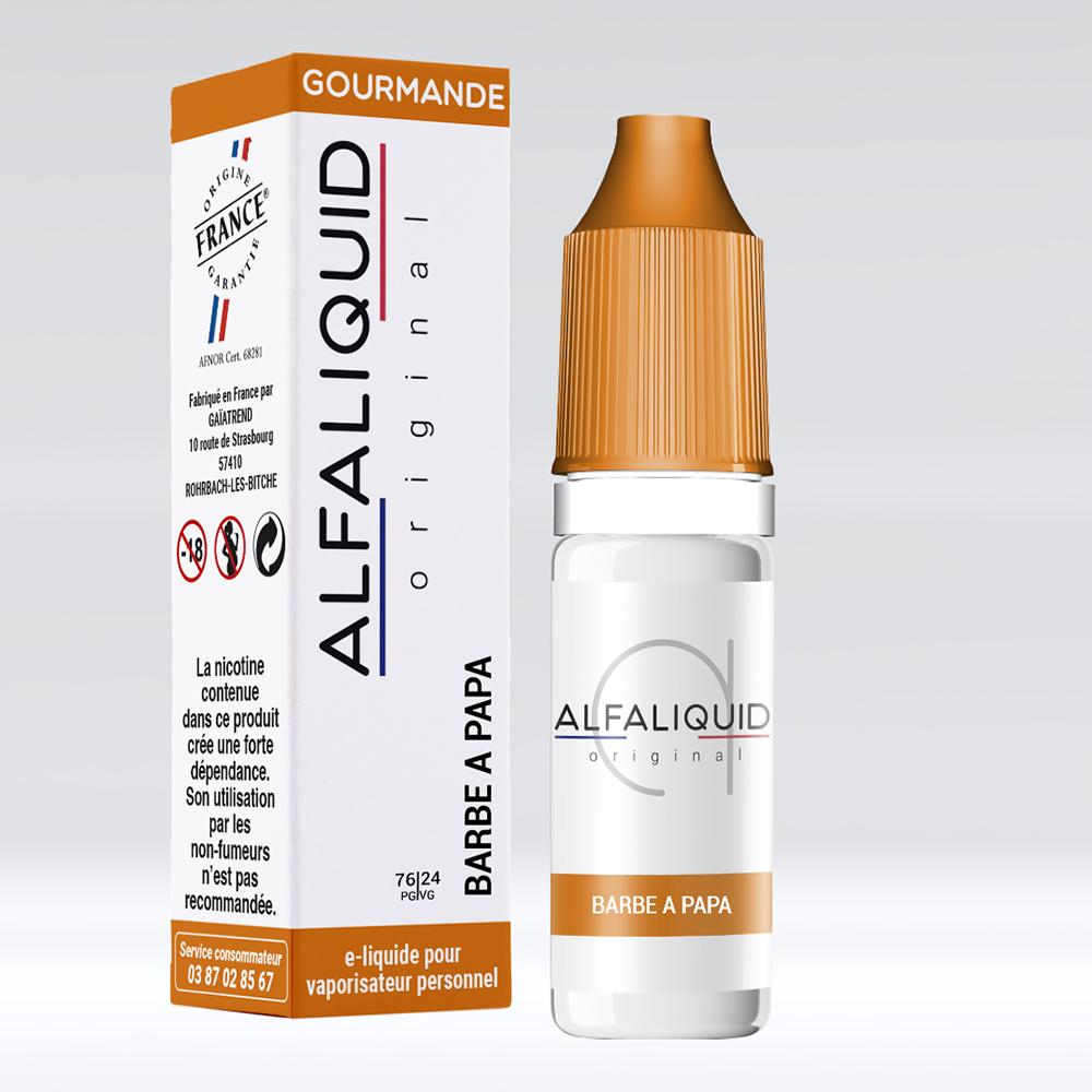 E-liquide Alfaliquid Barbe à Papa - Saveurs Gourmande