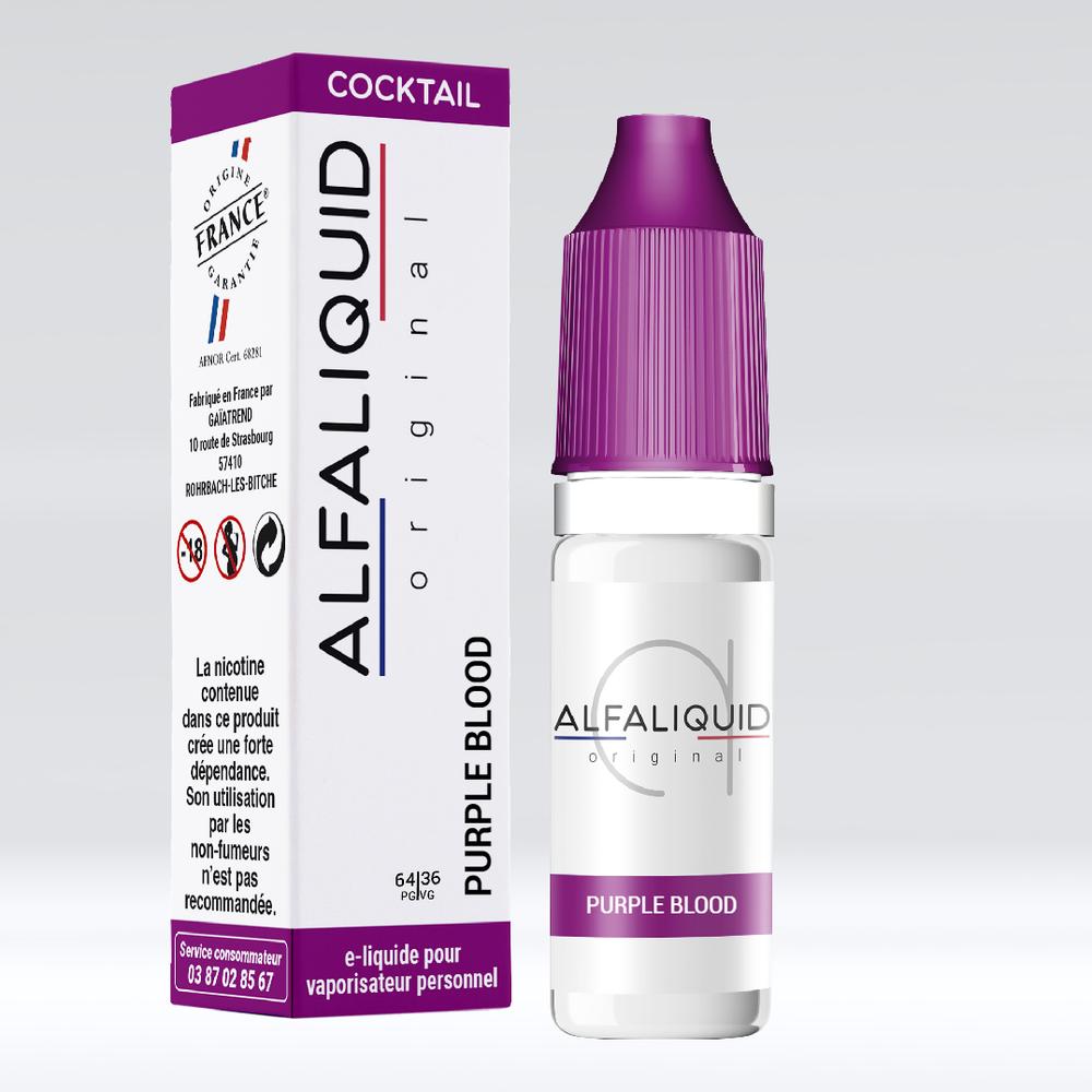 E-liquide Alfaliquid Purple Blood - Saveurs Cocktail