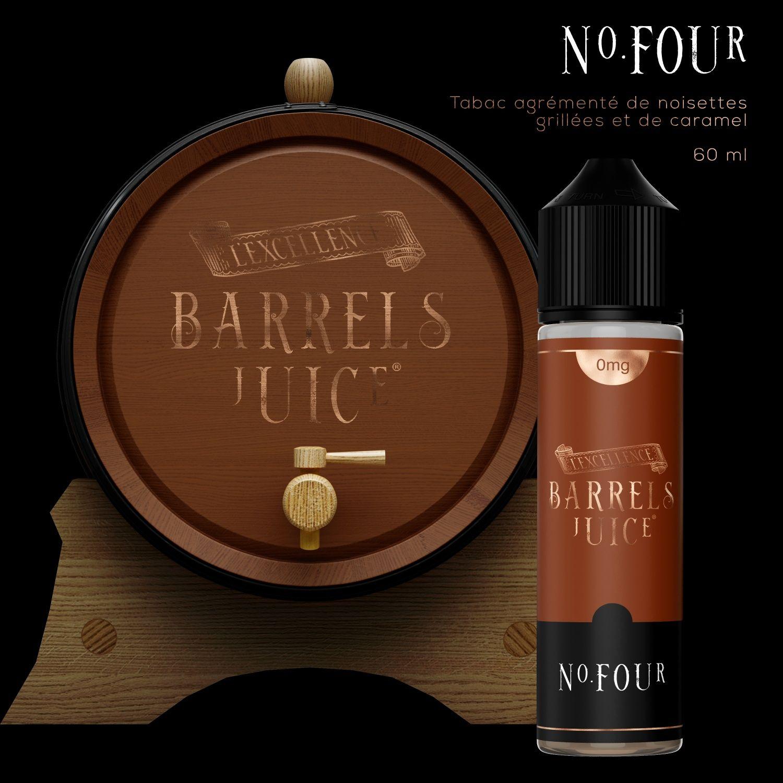 E-liquide-Tabac-two-60-Ml-Barrels Juice - Jo-al-nice