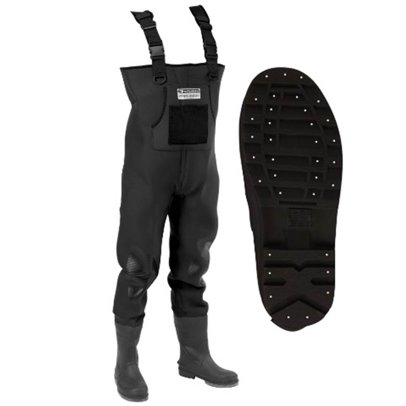 Waders néoprène 4mm GARBOLINO NEO PRECISION HD SEMELLES CRANTEES CLOUTEES