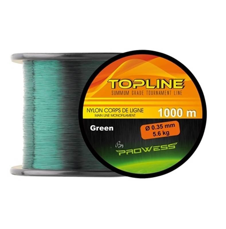 Monofilament nylon pour pêche de la carpe PROWESS Top Line 1000m
