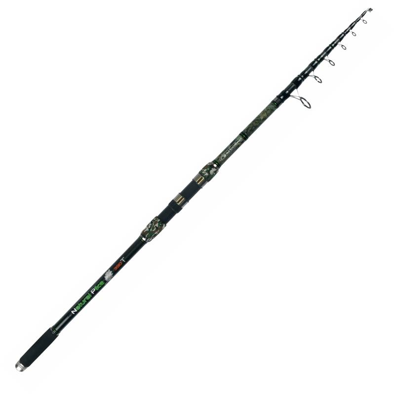 Canne spinning carnassier au posé GARBOLINO NATURAL PIKE CAMOU