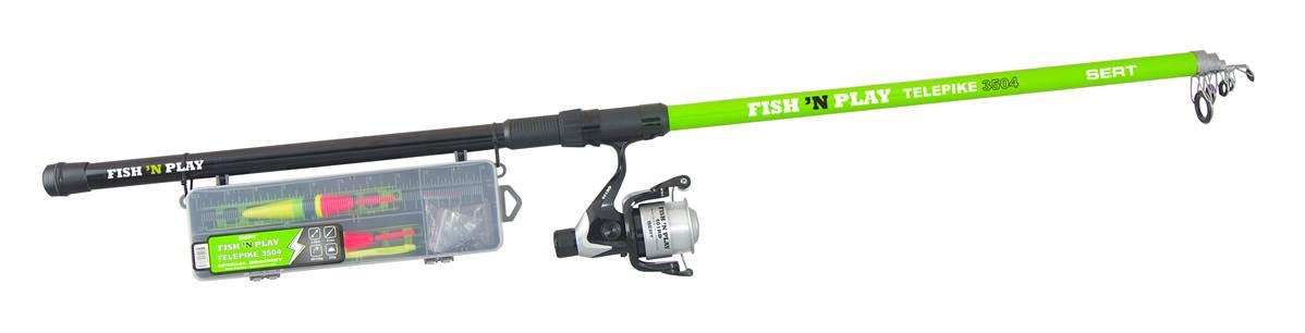 Kit fish\'n play SERT telepike 3504 + 401RD + box