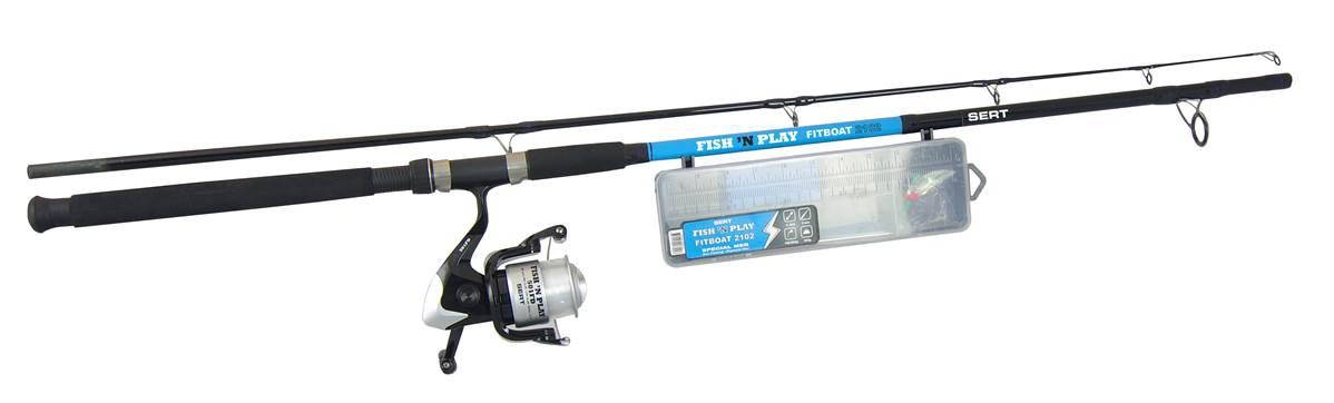 Kit fish\'n play fitboat 2102 + 501FD + box